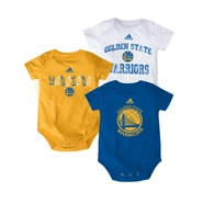 Golden State Warriors 3 Pack Creeper-MTC