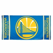 Golden State Warriors 30x60 Beach Towel