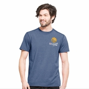 Golden State Warriors '47 Brand 2016 NBA Playoffs Team ID High Point Tee - Royal
