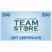 Golden State Warriors $50 Online Gift Certificate