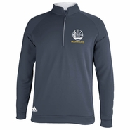 Golden State Warriors adidas Alternate 3-Stripes Piped 1/4 �Zip Pullover � Slate