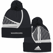 Golden State Warriors adidas Alternate Cuffed Pom Knit � Slate