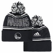 Golden State Warriors adidas Alternate Energy Cuffed Knit Pom � Slate
