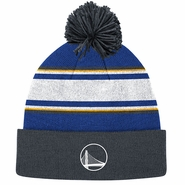 Golden State Warriors adidas Alternate Logo Knit with Pom - Slate