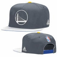 Golden State Warriors adidas Alternate Logo Snapback Cap - Slate