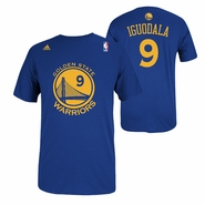 Golden State Warriors adidas Andre Iguodala #9 Gametime Player Tee - Royal - Will ship 9/10