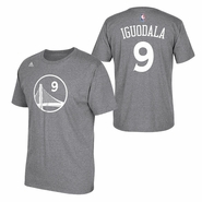 Golden State Warriors adidas Andre Iguodala Name & Number Tee - Slate