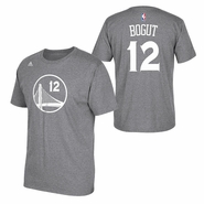 Golden State Warriors adidas Andrew Bogut Name & Number Tee - Slate