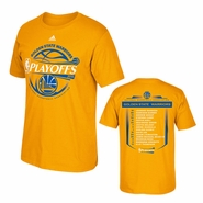 Golden State Warriors adidas Baseline Roster Tee - Will Ship 4/27