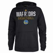 Golden State Warriors adidas Beta Rays Ultimate Hoodie - Black
