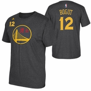Golden State Warriors adidas Chinese Heritage Andrew Bogut #12 Gametime Player Tee - Slate
