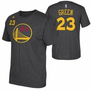 Golden State Warriors adidas Chinese Heritage Draymond Green #23 Gametime Player Tee - Slate