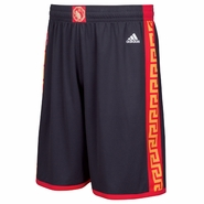 Golden State Warriors adidas Chinese Heritage Swingman Shorts - Slate