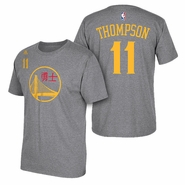 Golden State Warriors adidas Chinese New Year Klay Thompson #11 Gametime Tee - Will Ship 2/13