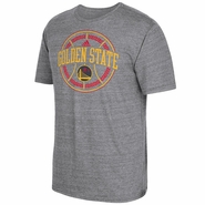 Golden State Warriors adidas Chinese New Year Shield Tri-Blend Tee