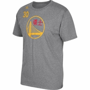 Golden State Warriors adidas Chinese New Year Stephen Curry #30 Gametime Tee - Will Ship 2/5