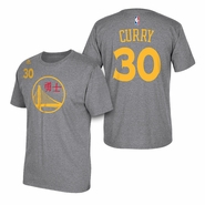 Golden State Warriors adidas Chinese New Year Stephen Curry #30 Gametime Tee - Will Ship 2/13