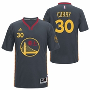 Golden State Warriors adidas Chinese New Year Stephen Curry #30 Swingman Jersey - Will Ship 2/20
