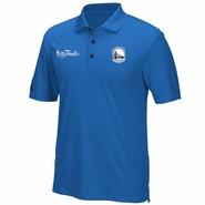 Golden State Warriors adidas Climacool NBA Finals Performance Polo - Royal