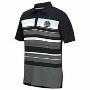 Golden State Warriors adidas Climacool� Sport Performance Stripe Polo � Black