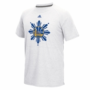 Golden State Warriors adidas Climalite� Filipino Heritage On-Court Ultimate Short Sleeve Tee - White