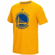 Golden State Warriors adidas Climalite Ultimate Making Waves Short Sleeve Tee � Gold
