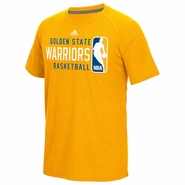 Golden State Warriors adidas Climalite Ultimate �Play It Forward� Short Sleeve Tee � Gold