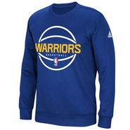 Golden State Warriors adidas Climawarm� Team Issue Crew New Ball Graphic � Royal