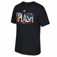 Golden State Warriors adidas Curry & Thompson SPLASH 2015 All-Star Tee - Black