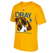 "Golden State Warriors adidas Draymond Green ""DRAY"" Flexing Tee - Gold"