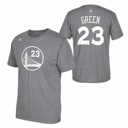 Golden State Warriors adidas Draymond Green Name & Number Tee - Slate