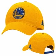 Golden State Warriors adidas Energy Stripe Slouch Adjustable Cap � Gold