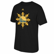 Golden State Warriors adidas Filipino Heritage Tee - Black
