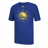 Golden State Warriors adidas Filipino Heritage Tee - Royal