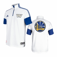 Golden State Warriors adidas Game Time Shooting Shirt - White