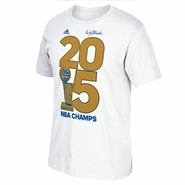 Golden State Warriors adidas Golden Year Tee - White - Will Ship 7/8