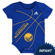 Golden State Warriors adidas Infant �Fan-atic� Basketball Creeper - Royal