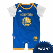 Golden State Warriors adidas Infant �Fan Jersey� Jersey Romper � Royal/White
