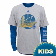 Golden State Warriors adidas Kids �Cager� Option Tee Combo Pack � Royal