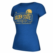 Golden State Warriors adidas Ladies Playoff Banner Tee - Will Ship 3/31