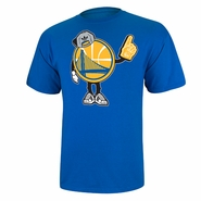 Golden State Warriors adidas Little Dude Tee - Royal