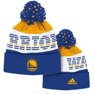 Golden State Warriors adidas Multi Color Cuffed Pom Cap