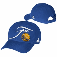 Golden State Warriors adidas NBA Finals Structured Adjustable Cap - Royal