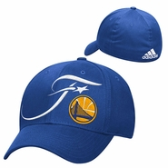 Golden State Warriors adidas NBA Finals Structured Flex Fit Cap - Royal