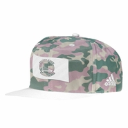 Golden State Warriors adidas Novelty Snapback - Camo