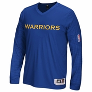 Golden State Warriors adidas On-Court Long Sleeve Shooter - Royal