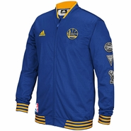 Golden State Warriors adidas On-Court Warm-Up Jacket � Royal