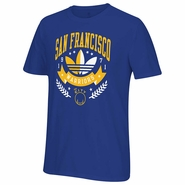 Golden State Warriors adidas Originals �Distinction in Sports� Short Sleeve Go-To Tee � Royal