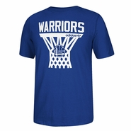 Golden State Warriors adidas Originals Internet Tee - Royal
