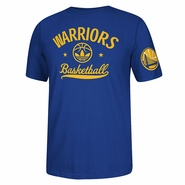 Golden State Warriors adidas Originals Street Sweeper Tee - Royal